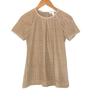 Banana Republic Eyelet Lace Blouse